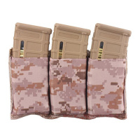 Cordura tactical molle magazine pouch bag Triple Mag Pouch (Multicam CB Foliage Green ACU BK) 2388c