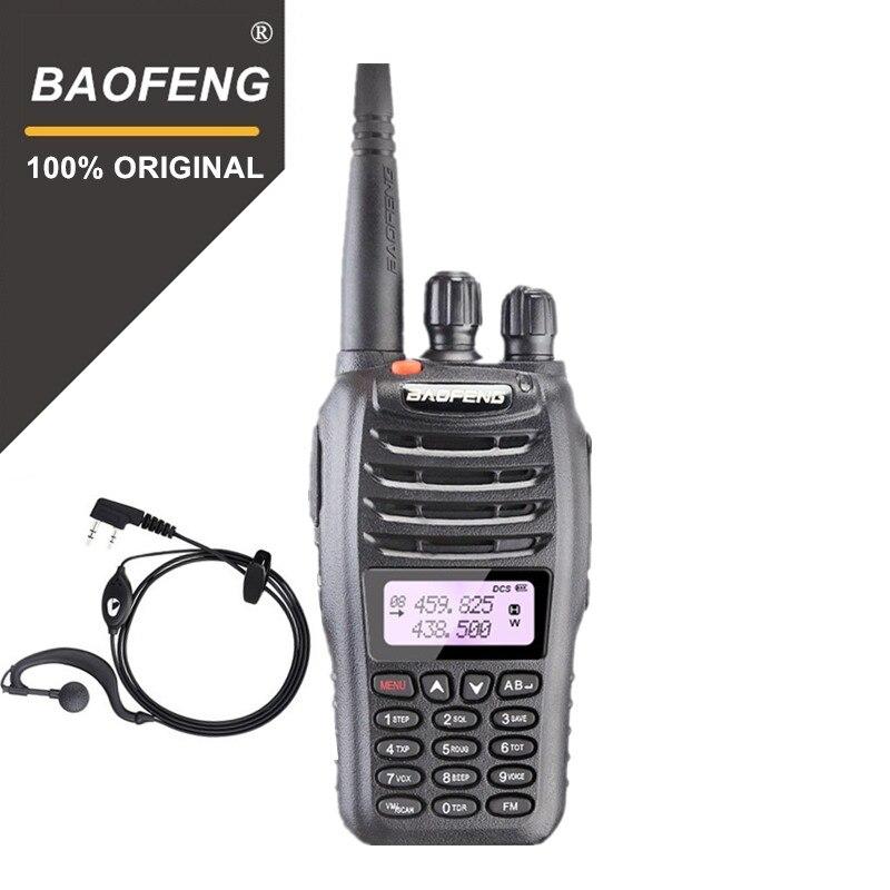 100% D'origine Baofeng UV-B5 Radio Bidirectionnelle Double Bande VHF UHF 5 w 99CH Portable Radio FM Émetteur De Poche Talkie walkie