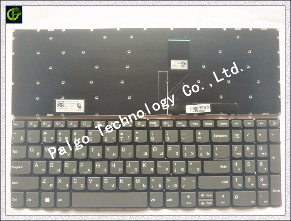Russian New Keyboard for Lenovo IdeaPad 320-15 320-15ABR 320-15AST 320-15IAP 320-15IKB 320S-15ISK 320S-15IKB RU Black keyboard ynmiwei for miix 320 tablet keyboard case for lenovo ideapad miix 320 10 1 leather cover cases wallet case hand holder films