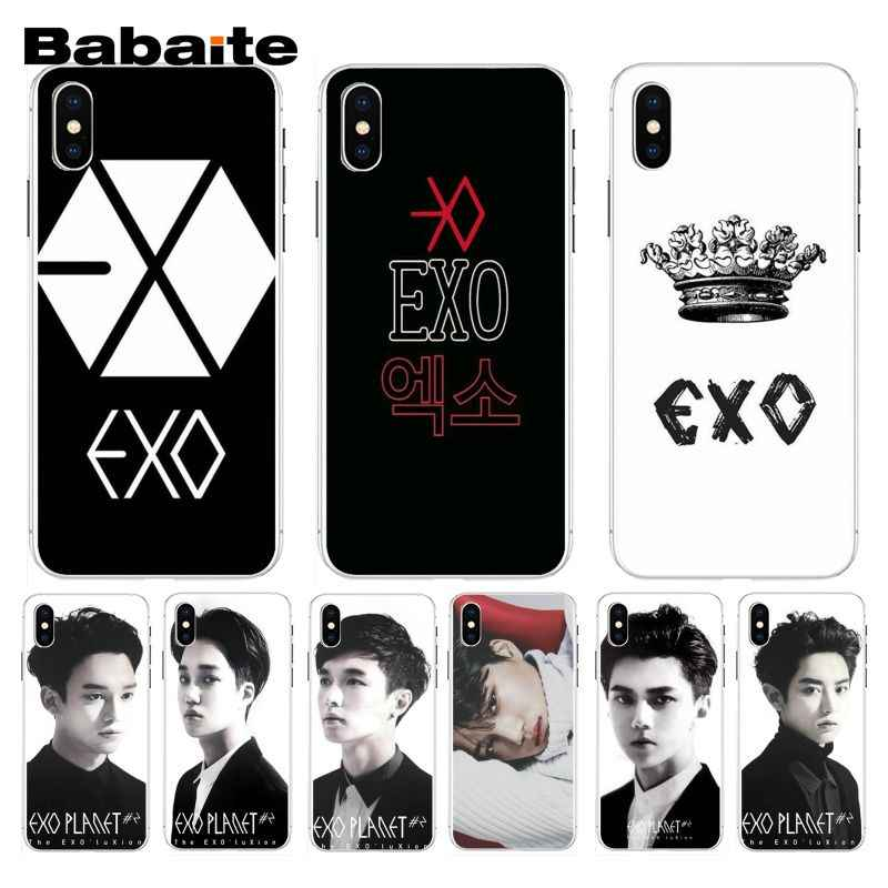 Babaite Kpop Exo Lucky One Logo Advantageous Phone Case For Iphone 7 7plus X 8 8plus And 5 5s 6s 6s Plus Mobile Phone Case Aliexpress