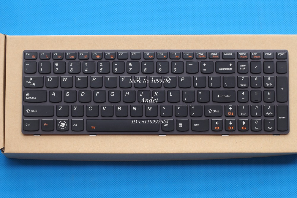New Original US English Keyboard for Lenovo Y580 Y580N Y580A Y590 Y500 Y500N Y510 Y510P Series