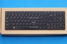 Neue original us englisch tastatur für lenovo y580 y580n y580a y590 y500 y500n y510 y510p serie schwarz tastatur mit hintergrundbeleuchtung