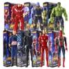 29cm Marvel Avengers 3 Super Hero Hulkbuster Thanos Iron Spider Man Black Panther Captain America