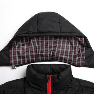 Image 5 - Faliza新メンズ冬のジャケット暖かい男性コートファッション厚い熱男性パーカーカジュアル男性ブランド服プラスサイズ 6XL SM MY G