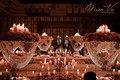 1 Peças/lote Peça Central Do Casamento de Cristal Flor Carrinho do Bolo Stand Centro Decoração Castiçal De Cristal Ondulado Cremalheiras Da Flor