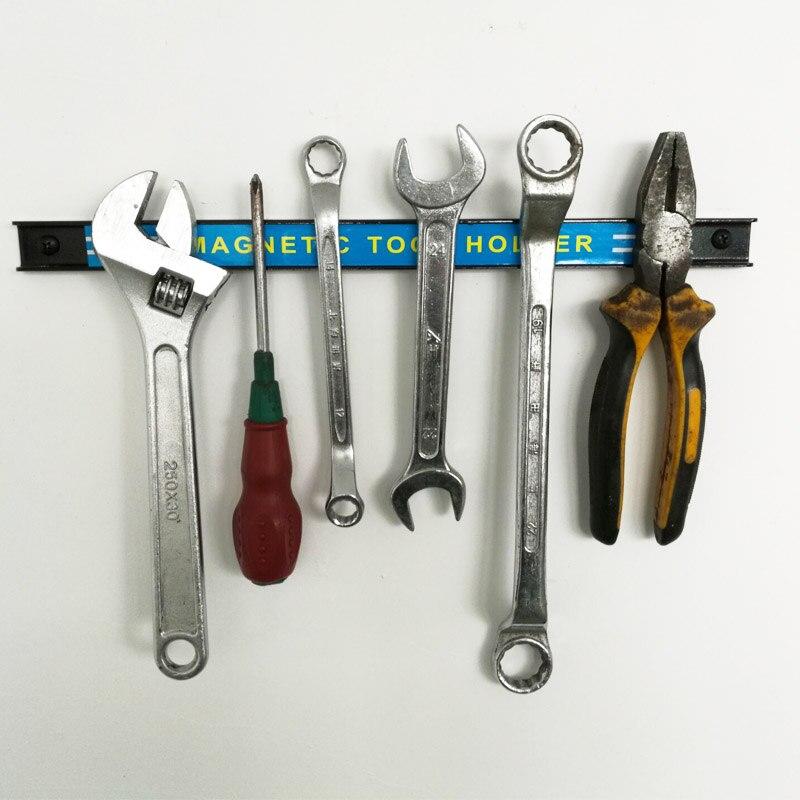 Профессиональный магнитный держатель для инструментов 23 см, 48 см, 61 см, может быть зафиксирован, инструмент для ремонта автомобиля, держатель для хранения салфеток, магнитный держатель для зачистки