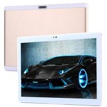 La entrega libre 10.1 pulgadas Android 7.0 Octa Core Tablet PC 4G LTE Llamada de Teléfono Dual SIM 64 GB ROM 4 GB RAM WIFI GPS bluetooth PC Tablet
