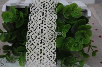 100 Yard  40mm 100% Cotton Lace COTTON CLUNY  LACE TRIM - LOVELY DESIGN~NATURAL wholesale .