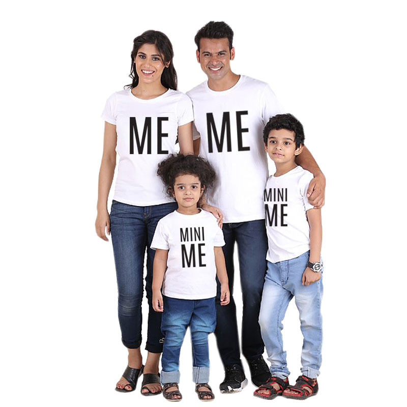 family matching clothes look mother daughter father son t shirt outfits mommy daddy and me clothes mom baby T shirts clothing MY in Matching Family Outfits from Mother Kids