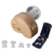 Mini Clear Listening Hearing Aids Aid Personal Sound Amplifier In the Ear Volume Adjustable AXON K-80 Audifonos Para Sordos