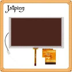 Jstping 6.2 cal 800*480 60 szpilki ekran TFT LCD dla Hannstar HSD062IDW1 A00 A01 A02 C00 B00 monitorów LCD panel wyświetlacza ekran dotykowy digitizer w Ekrany LCD i panele do tabletów od Komputer i biuro na