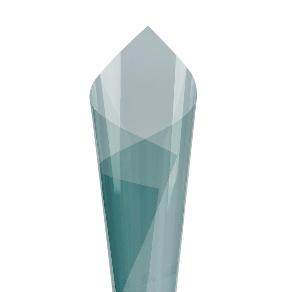 4mil 70% VLT bleu clair Super clair Film de sécurité/sécurité Nano céramique teintes 100x600 cm - 3