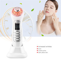 Ultrasonic Facial Cleaning Device Photon Therapy Anti aging Remove Wrinkle Rejuvenation Beauty Care Instrument Face Skin Care 21
