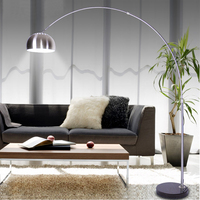 Stainless Steel Floor Lamp Creative Fishing Standing Lamp Light Fixtures for Living Room Bedroom Study Home Decor Floor Lighting