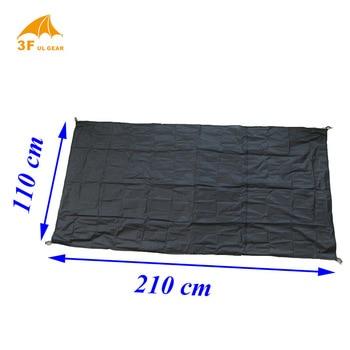 3F ul Gear LANSHAN 2 original silnylon footprint 210*110cm groundsheet