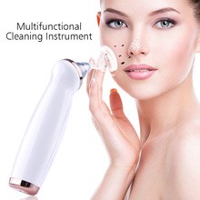купить Blackhead Remover Skin Care Pore Vacuum Acne Pimple Removal Vacuum Suction Tool Facial Diamond Dermabrasion Machine Face Clean дешево