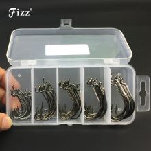 50 pcs/box Multiple Sizes Overturned Fishhooks Stainless Steel Sharp Barbed Fishing Hooks Carp Accessories