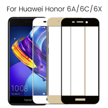 Protective Glass On Honor 6c 6a Pro 6x Screen Protector Temper Glas For Huawei 6