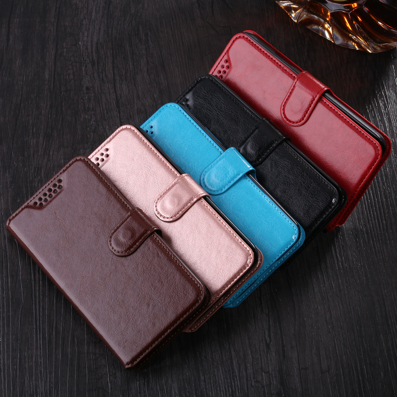A3 A5 2017 J1 J3 <font><b>J5</b></font> J7 <font><b>2016</b></font> Core 2 Grand Prime Leather Flip Cover Wallet Case for <font><b>Samsung</b></font> Galaxy S4 S5 mini S6 S7 edge S8 Plus image