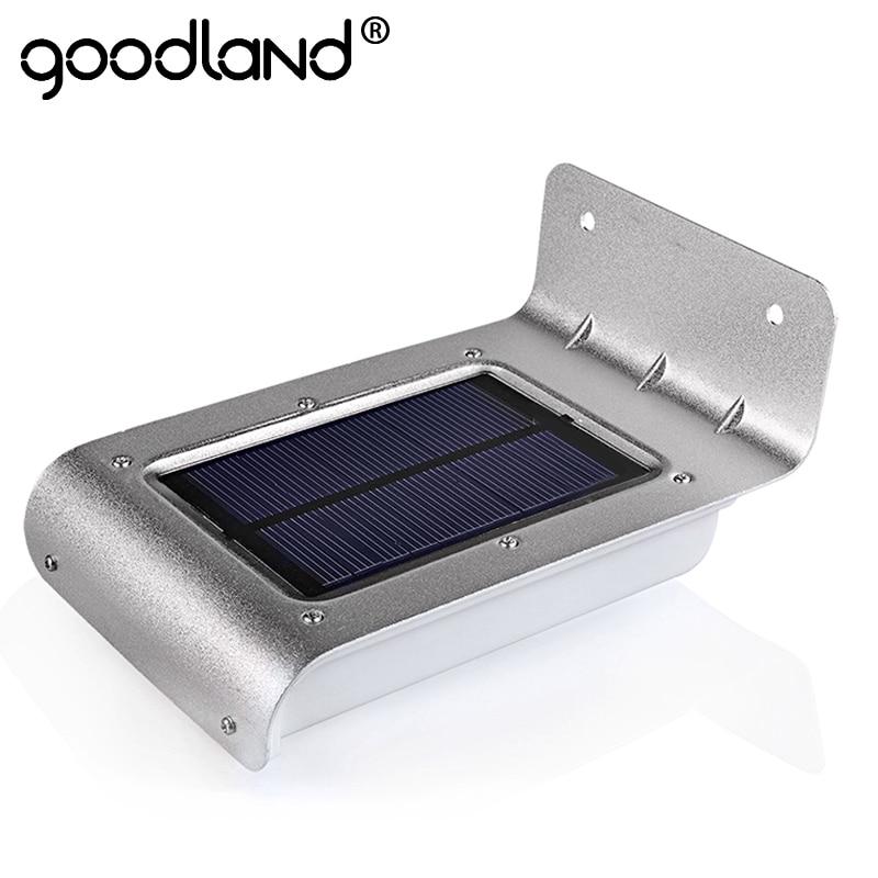 Goodland LED Solar Power Motion Sensor solar garden light Lamp Security Outdoor Lighting garden solar light led solar light
