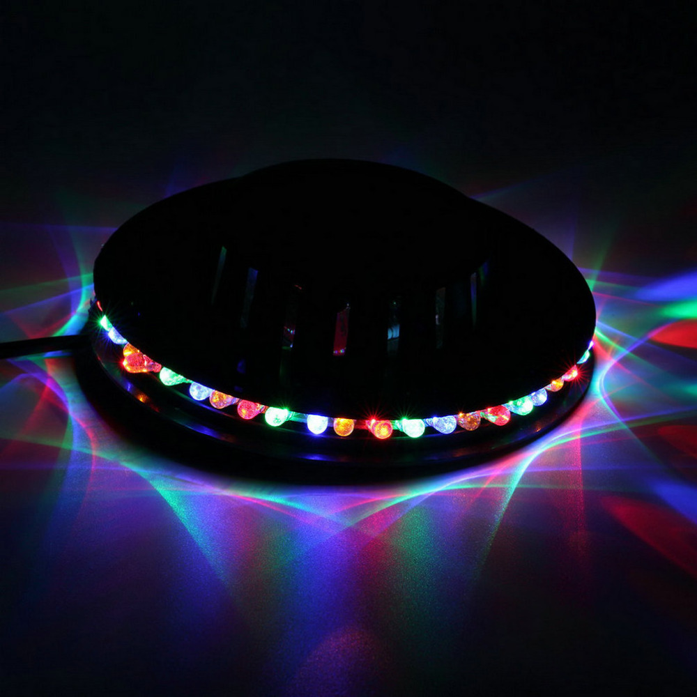 1PC New Popular Magic Disco DJ Stage Lighting Sunflower 48 LED RGB Bar Party KTV Effect Light lamp, hot selling