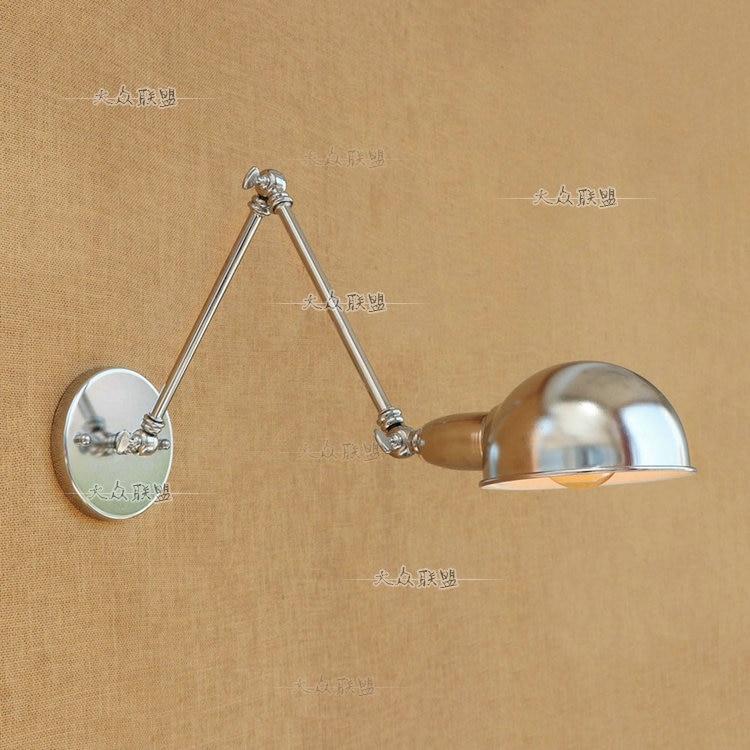 Rh Loft E27 Wall Lamp Mechanical Arm France Jielde Wall Lamp Reminisced Retractable Double Vintage Wall Swing Arm Light Fragrant In Flavor