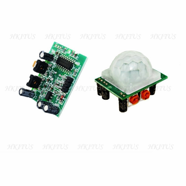 wholesale Hight quality PIR Sensor Human Body detecting module Pyroelectric HC-SR501 For Araduino UNO r3 MCU Free Shipping