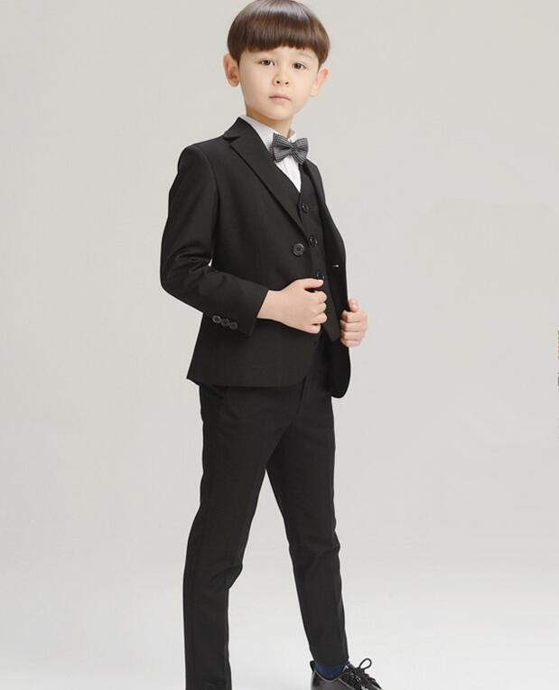 High Quality Baby Boys Formal Sets Kids Blazers Boy Suit For Wedding Prom Children Jacket+Pants+Tie+shirt 4 Pcs Boy Suits бра mantra eve 1174