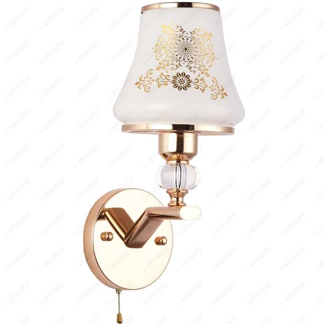 3w 5w 7w Led Wall Sconce Light Pull Switch N Bedside Lamp E27