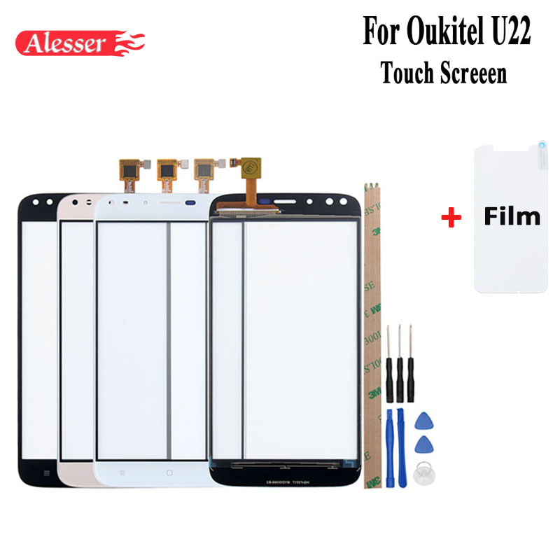 Alesser For Oukitel U22 Sensor Touch Screen 5.5 Inch Perfect Repair Parts Touch Panel +Tools+Tapes For Oukitel U22 Phone+FilmAlesser For Oukitel U22 Sensor Touch Screen 5.5 Inch Perfect Repair Parts Touch Panel +Tools+Tapes For Oukitel U22 Phone+Film