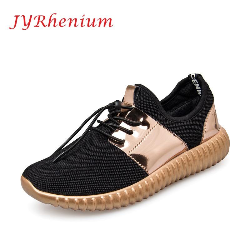 JYRhenium Sneakers Shoes Men Running Shoes 2018 Lovers Outdoor Men Sneakers Sports Breathable Trainers Jogging Walking Shoes