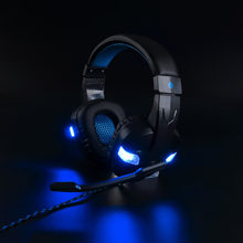 Best Gaming Headset Gamer casque Deep Bass Gaming Headphones for PS4 Xbox One Computer PC Laptop Notebook with Microphone LED(China)