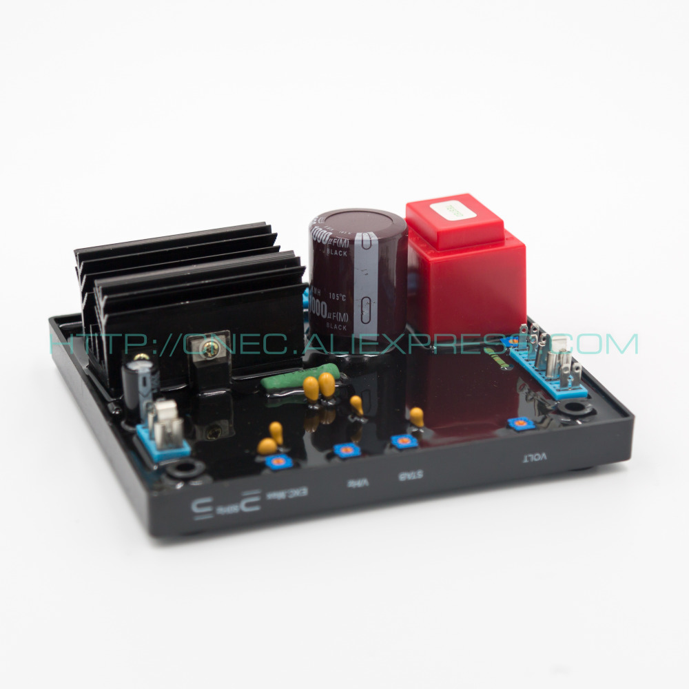 2PCS avr R438 automatic voltage regulator generador AVR R438 high quality brushless alternator spare part automatic voltage regulator generator avr r438