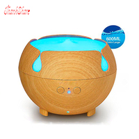 THANKSHARE Ultrasonic 600ML Air Humidifier Essential Oil Aroma Diffuser Aromatherapy 7 Color Change Humidifier Home Office