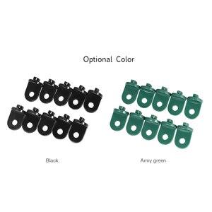 Image 2 - 10 adet sera plastik askı asılı klip saksı asma kancaları bitki askıları sera araçlar asılı alet sera için