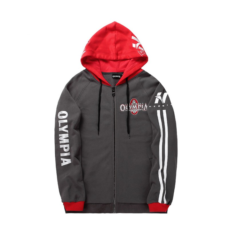 Mens zipper Hoodies Fashion Casual  3