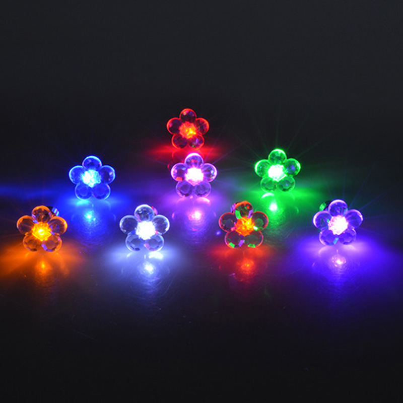 ae5cf4989 Detail Feedback Questions about 1 Pair flower LED Earring Light Up ...