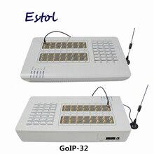 Oryginalny DBL GoIP 32 porty ip bramka gsm/voip sip bramka/GoIP32 VoIP bramka GSM wsparcie SIP/H.323 GOIP 32 promocja sprzedaży