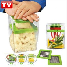 New Chop MAGIC Creative Fruit and Vegetable Tool Salad Partitioning Tool Convenient Shredder Utility Kitchen Chopper