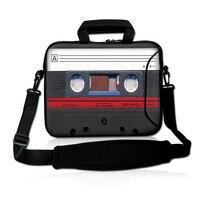 Tape Soft 17 17 3 Laptop Carrying Bag Sleeve Case W Side Pocket Shoulder Strap