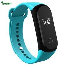 TROZUM A16 Bluetooth смарт Браслет поддержка мониторинга сердечного ритма дистанционного управления камерой WeChat спортивные преимущество питания