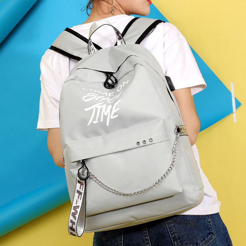 Girls Luminous Chain Back to School Backpack 4