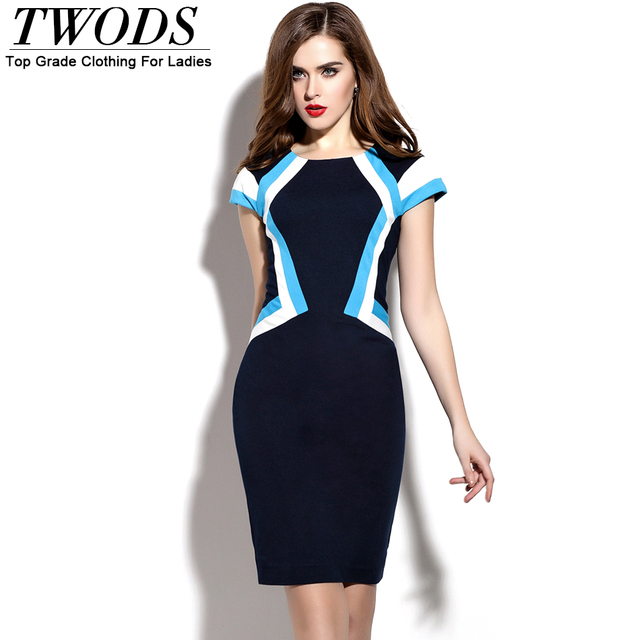 ed5f141ed71 Twods European Style New Fashion Designer Bodycon Dress Womens Sexy Dresses  Party Night Club Dress Office Ladies Formal Wear XXL