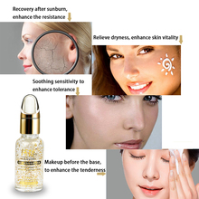 Skin Care Pure 24K Gold Essence Day Cream Anti Wrinkle Face Anti Aging Collagen Whitening Moisturizing Hyaluronic Acid