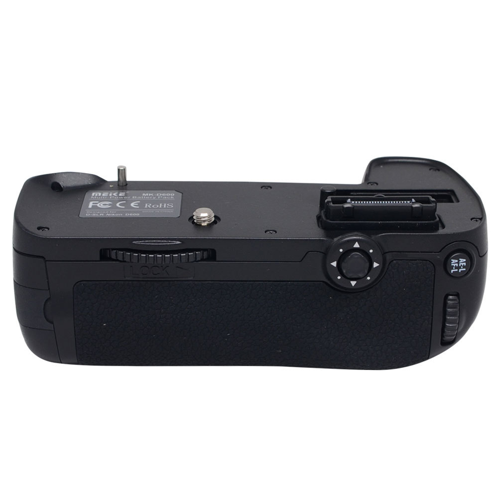 Meike Battery Grip voor Nikon D600 D610 DSLR camera EN-EL15 MB-D14