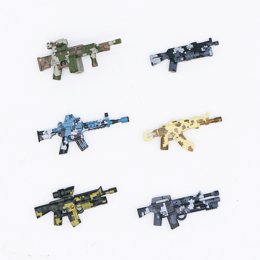 LEGO Guns Shotgun Lot of 15 Heavy Black Army SWAT Modern Military Weapon Pack