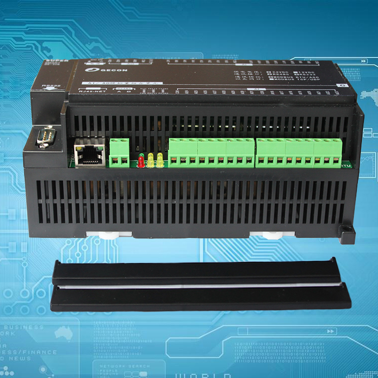 8 Channel PT100 Temperature Acquisition 8DI Digital Input 6DO Output Industrial Ethernet IO Module