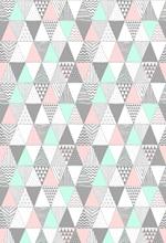 Geométrica figura triângulo HUAYI cenário vinil fotografia backdrops foto props crianças fundo XT-6638 do chuveiro de bebê
