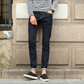 2017 new men's jeans youth man slim fit denim pants male fashion casual skinny jeans trousers size 28-38