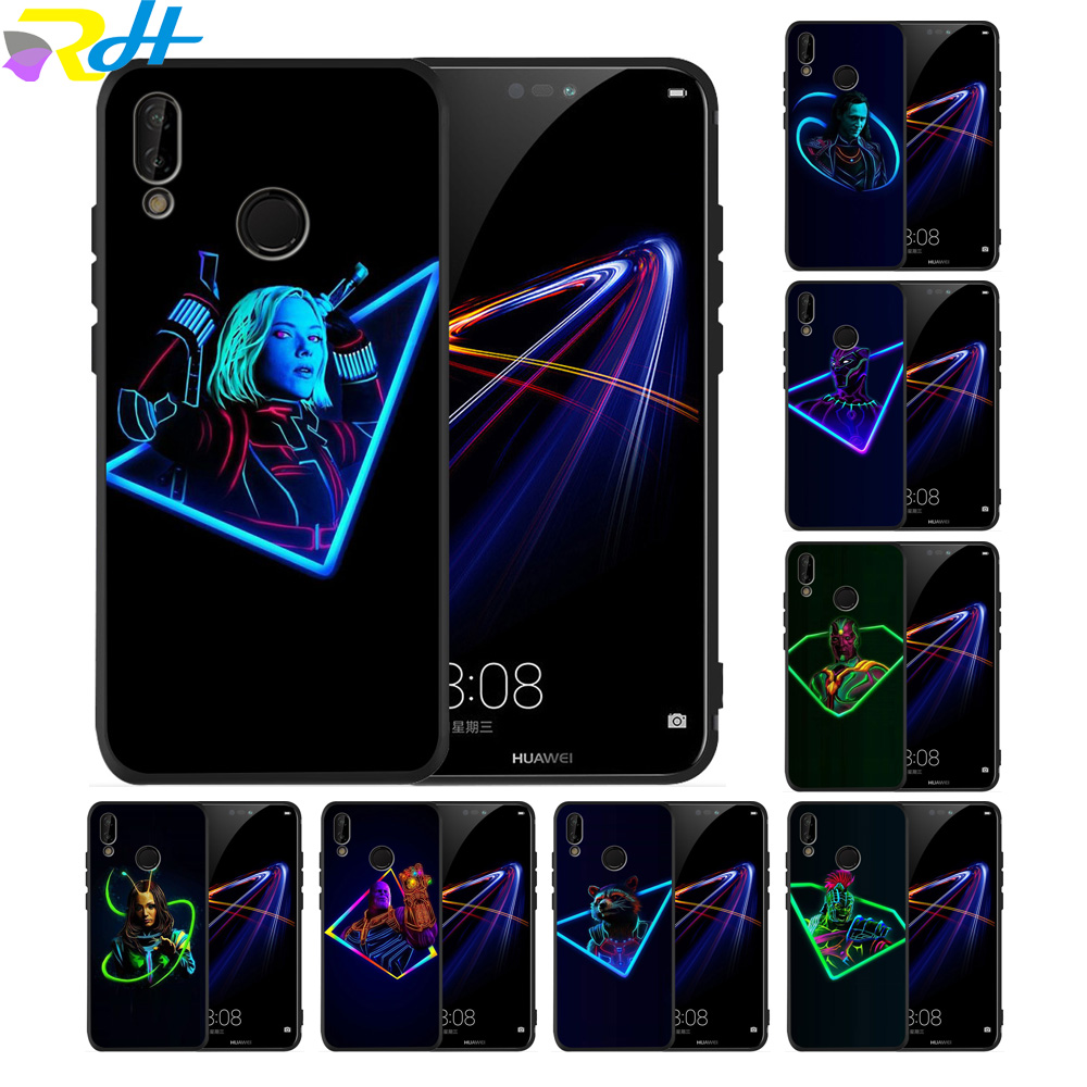 Black TPU for Huawei Mate 20 Pro Case Karl Avengers: Endgame Mare 10 20 Lite Smart Cover For Huawei Mate 20 Case Coque Fundas